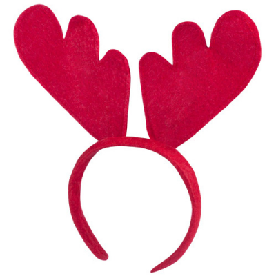 Image of Promotional Christmas Rudolph Red Headband Antlers