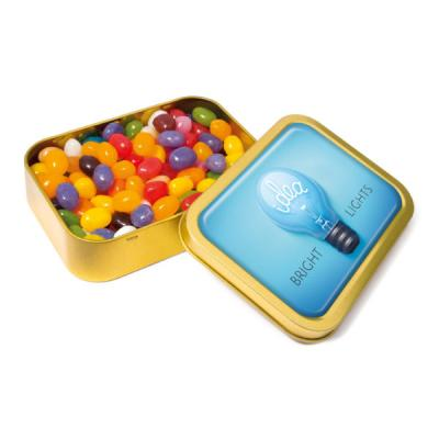Image of Gold Sweet Tin Jelly Bean Factory Beans