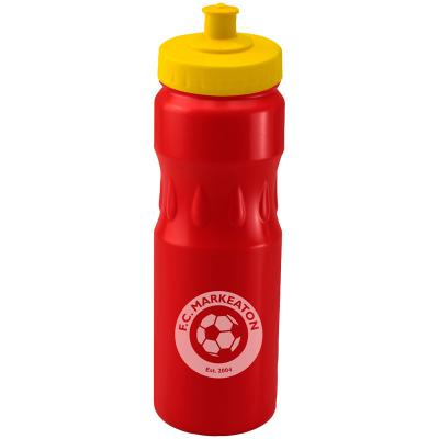 Image of Printed Tear Drop Sports Bottle 750ml, UK Manufactured