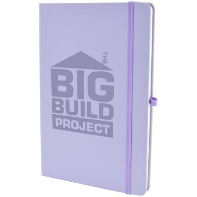 Image of Promotional A5 Mole Notebook With Book Mark. Full Colour Print
