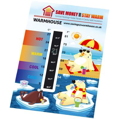 Image of Promotional Temperature Gauge Cards - Credit card size