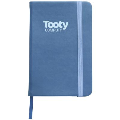 Image of Branded A6 Stanway Notebook With PU Cover.