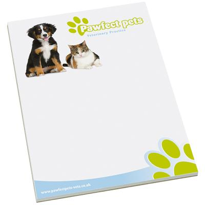 Image of A4 Jotter Pads Desk Pads Promotional Smart Pad A4