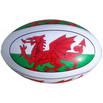 Image of Promotional Full Size Rugby Balls - Quality Printed PVC Rugby balls from PromoBrand