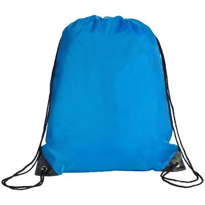 Image of Promotional Eynsford Back Pack, Drawstring Bag With PU Corners