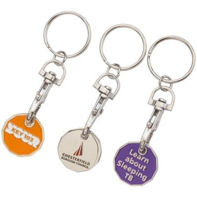 Image of Trolley Coin Key Ring; Promotional Keyring. 2017 Trolley Coins Now Available