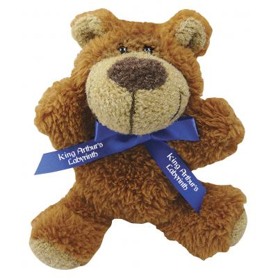 "Image of 5"" Buster Bear and Neck Bow"