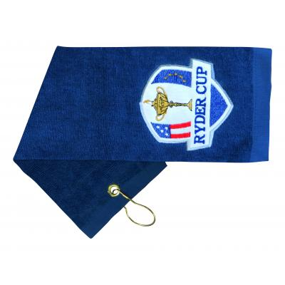 Image of Embroidered Cotton Golf Towel