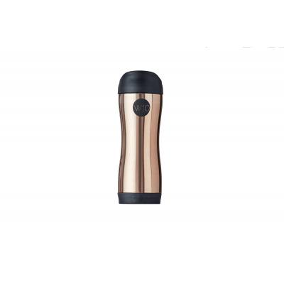 Image of Promotional W10 Push Button Travel Mug Riley Rose Gold