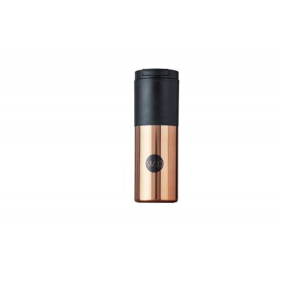 Image of Promotional W10 Fuse Travel Mug Rose Gold & Black