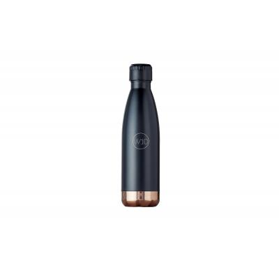 Image of Promotional W10 Stainless Steel Water Bottle Bevington Black
