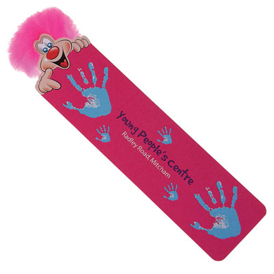 Image of Promotional Branded Adman Kids Character Bookmark