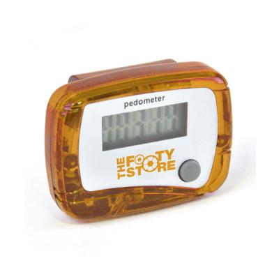Image of Branded Carmel Pedometer. Printed Cheap Pedometer.