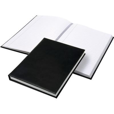 Image of Recycled Malvern A5 Notebook smooth leather bound Notebook embossed