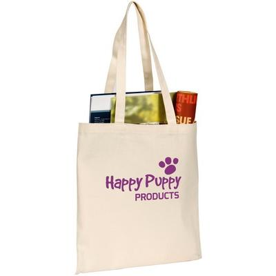 Image of  Promotional Sandgate 7oz Cotton Canvas Tote Bag. Natural. Express Service Available.