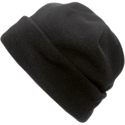 Image of Printed Polyester fleece beanie Hat