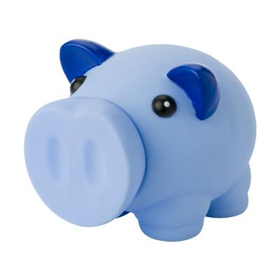 Image of Printed Plastic Piggy Bank With Nose As Stopper