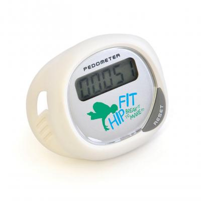 Image of Promotional Pedometer. Printed Pedometer That Clips On to Trainers.