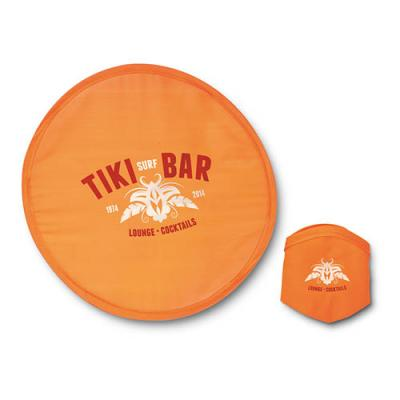 Image of Printed Foldable Frisbee With Matching Pouch. Express Available