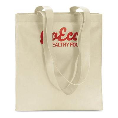 Image of Branded Colourful Non Woven Tote Bag With Long Handles