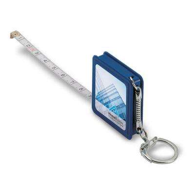 Image of Promotional Square Tape Measure with Keyring