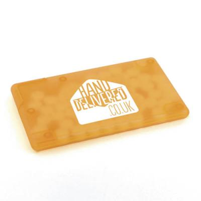 Image of Promotional Mint Card Plastic Business Card Shaped Mint Holder