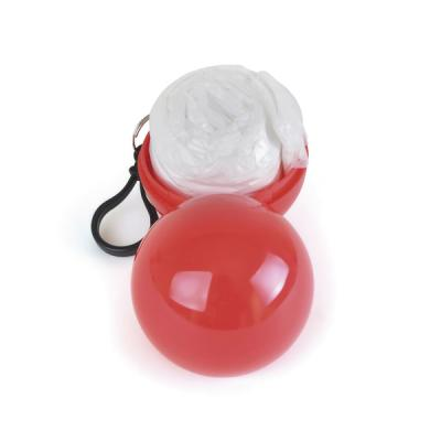 Image of Promotional Poncho In Coloured Ball With Hook