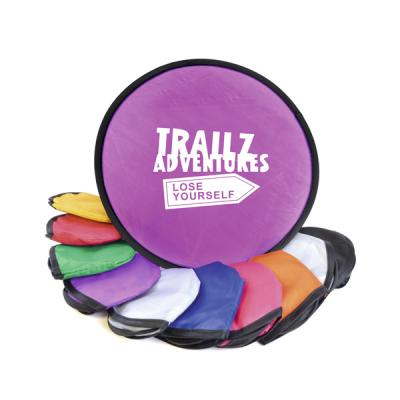 Image of Promotional Foldable Frisbee. Quick Turn Around Time.