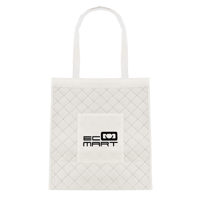 Image of Promotional Scott Quilted Non Woven Bag Eco Recyclable Express Printed Bag