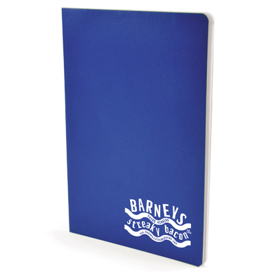 Image of Promotional A5 Notebook. Classic School Exercise  Book. Express Service