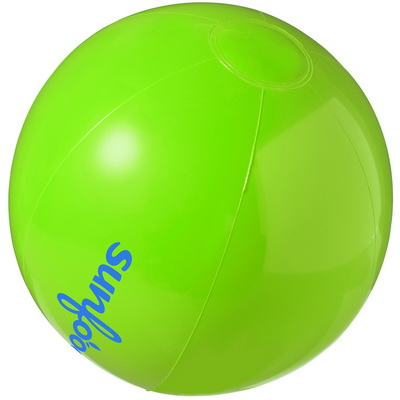 Image of Promotional Inflatable PVC beach ball - Bahamas Solid Beach Ball