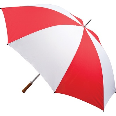 Image of Promotional Quantum Golf Umbrella Fibreglass Rib - Red and White