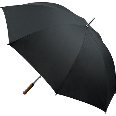 Image of Printed Quantum Golf Umbrella Fibreglass Ribs - All Black