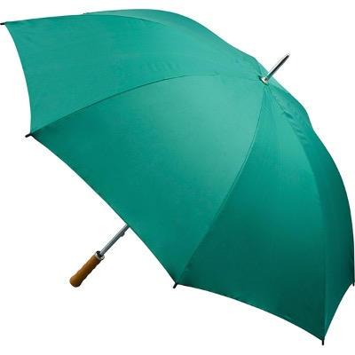 Image of Promotional Green Umbrellas - Quantum Golf Umbrella - All Green