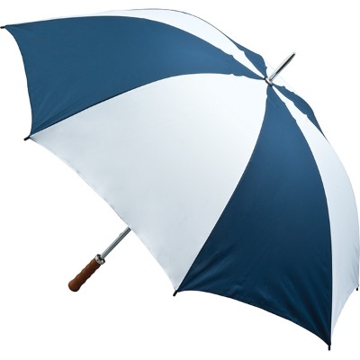 Image of Promo Printed Quantum Golf Umbrella - Navy and White
