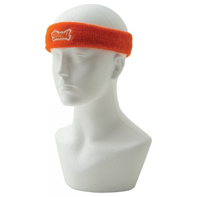 Image of Promotional Towelling Headbands/Embroidery Woven Applique Label Or Full Colour Printed Label