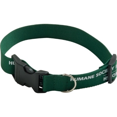 Image of Promotional Polyester Dog/Pet Collar. Comes In Sturdy Material With Plastic Catch And Slide Adjuster