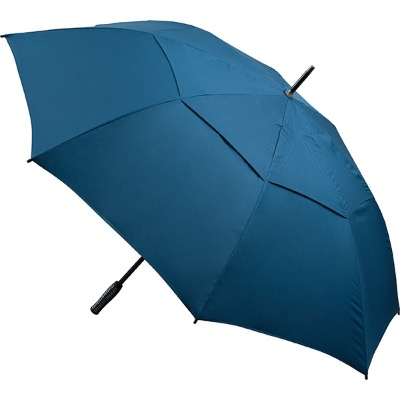 Image of Printed Automatic Opening Vented Golf Umbrella - Navy