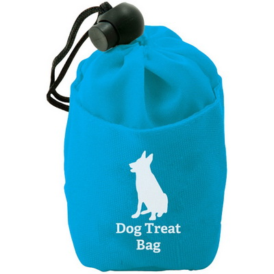 Image of Promotional Dog Treat Bag made from poly/nylon
