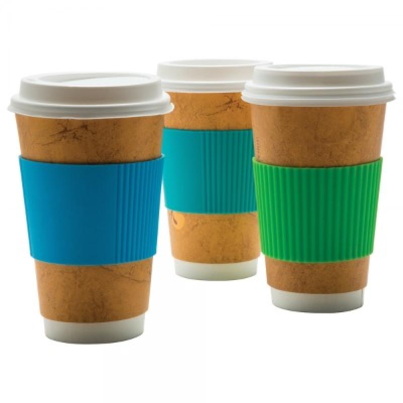 4 x Silicone lids with stopper for mug, glass and coffee cup. High Quality Food Grade. For 8cm cups. With Sleeve.