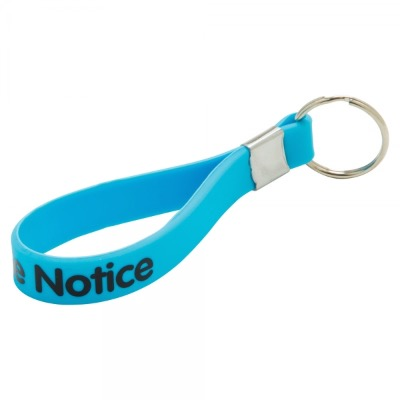 Image of Promotional Silicone Loop Keyring/Come In Bright Neon Colours