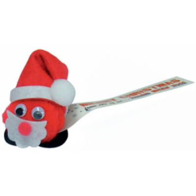 Image of Promotional Father Christmas Logobug, Low Cost Novelty Xmas Item