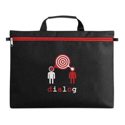 Image of Promotional A4 Document Bag With Short Handles