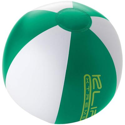 Image of Branded Palma Solid Beach Ball. Quick Turnaround Time