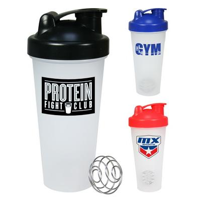 Image of Printed Protein Shaker. Promotional Metal Ball Shaker 600ml