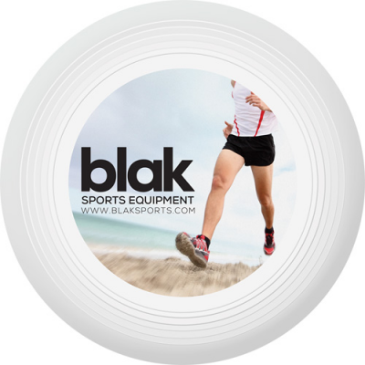 Image of Full Colour Printed Recycled Frisbee Large. Express service