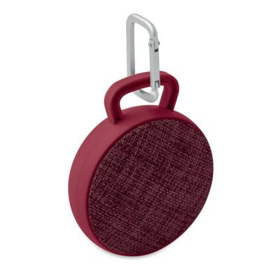 Image of Promotional Roll round bluetooth speaker with fabric cover