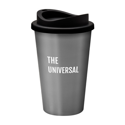 Image of Printed Universal Mug Reusable Takeaway Cup With Lid