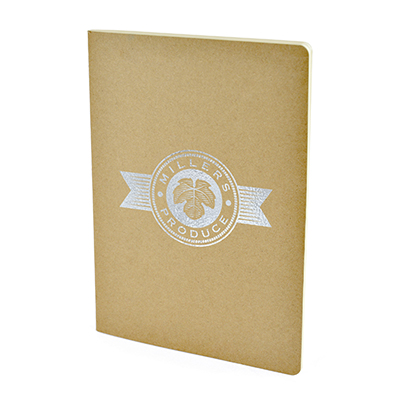 Image of Express Printed Eco A5 Rayne Notebook with a Recycled Cardboard Cover
