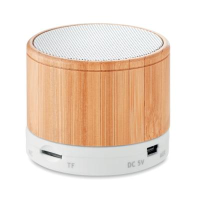 Image of Promotional Eco Bluetooth Speaker With Bamboo Casing